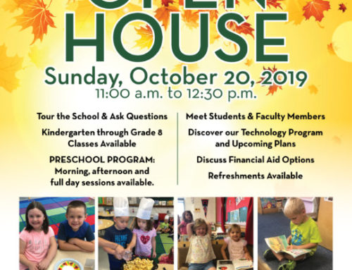 Fall Preschool/Kindergarten Open House