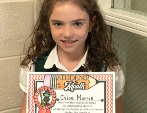 October Student Of The Month Award
