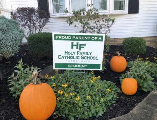 Thank you to all of our families who sent in pictures of their yard signs!