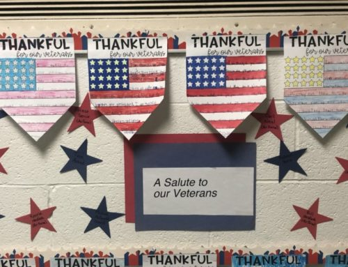 Big SHOUT OUT To Our Fifth Grade Students Who Honored Our Veterans.