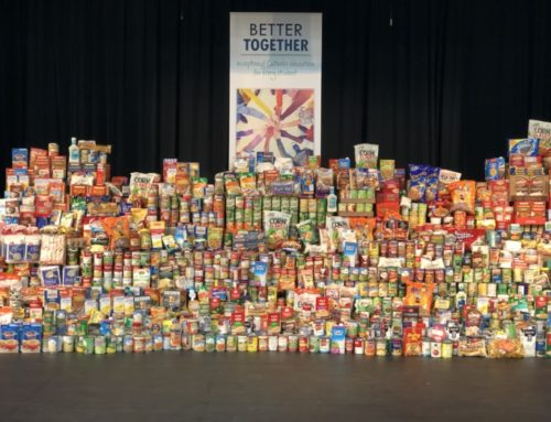 Our Annual Thanksgiving Food Drive Was Inspiring This Year!