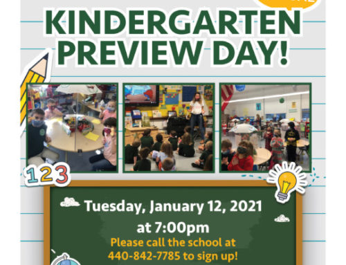 Virtual Kindergarten Preview Day