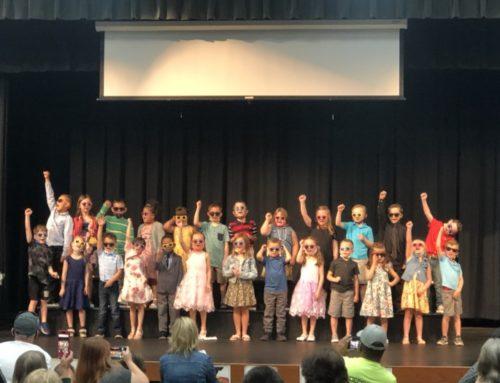 Congratulations To Our Graduating Kindergarten Class!!