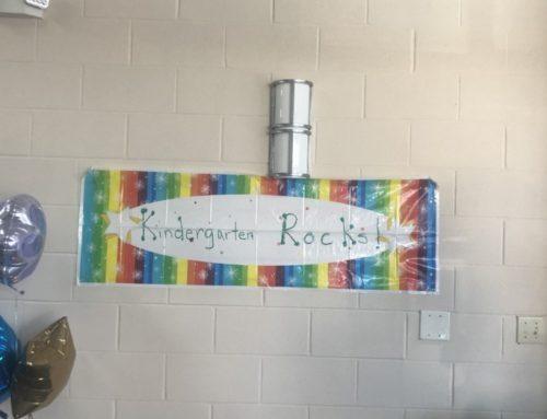 We Welcomed Our New Kindergarteners Last Week.